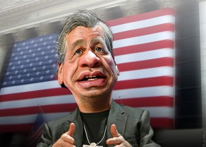 Jamie Dimon Caricature